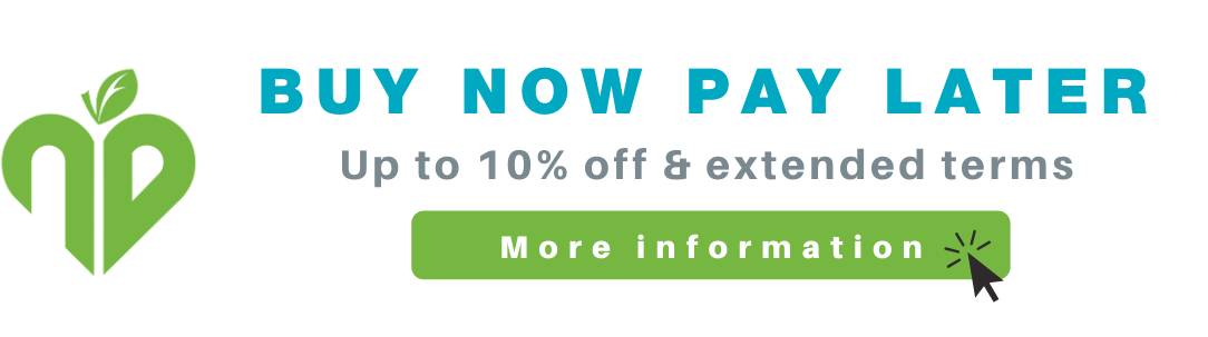 Buy now pay later - up to 10% off your bulk buy garment orders
