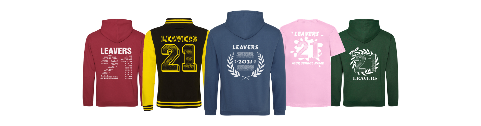 Leavers hoodie 2021 design
