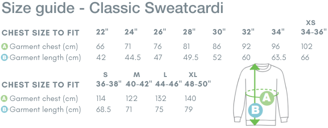 School Trends School Uniform - Classic Sweatcardi