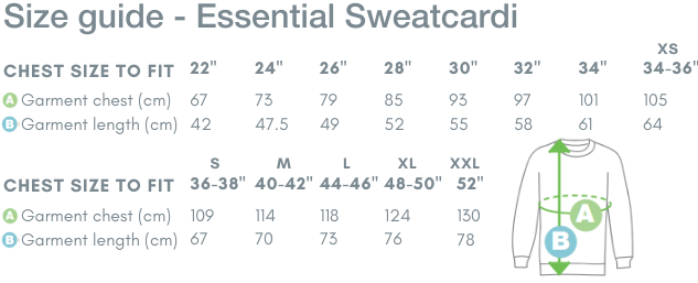 School Trends School Uniform - Essential Sweatcardi