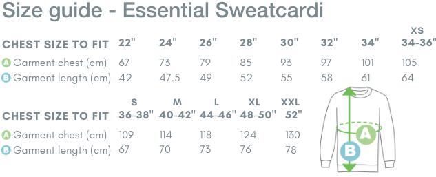 School Trends School Uniform - Essential Sweatcardi