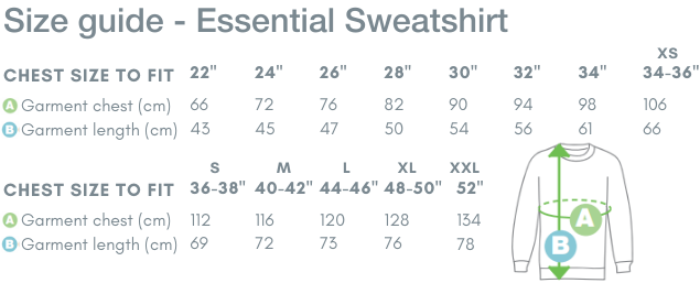 School Trends School Uniform - Essential Sweatshirt