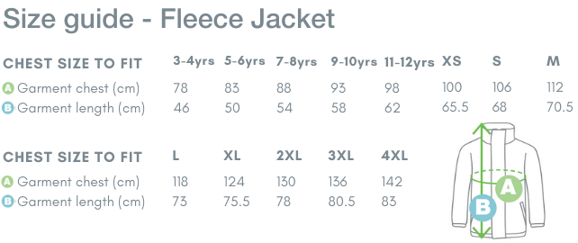 School Trends School Uniform - Fleece Jacket