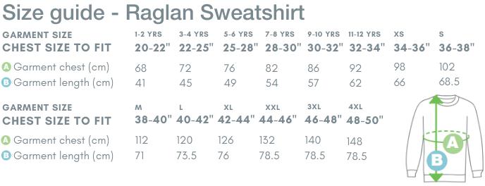 School Trends School Uniform - Raglan Sweatshirt