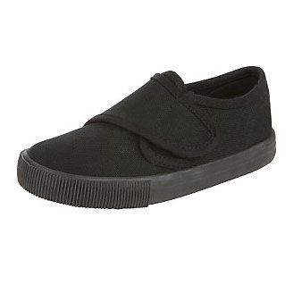 Plimsoles with velcro