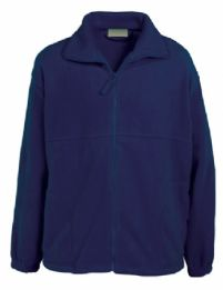Fleece Jacket - with logo