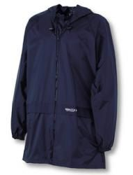 Waterproof Over Jacket-Navy -Jun & Sen -SPLogo