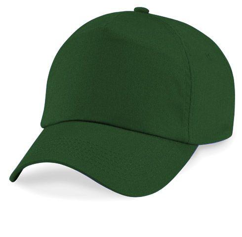 bottle green baseball cap quality caps adjustable velcro
