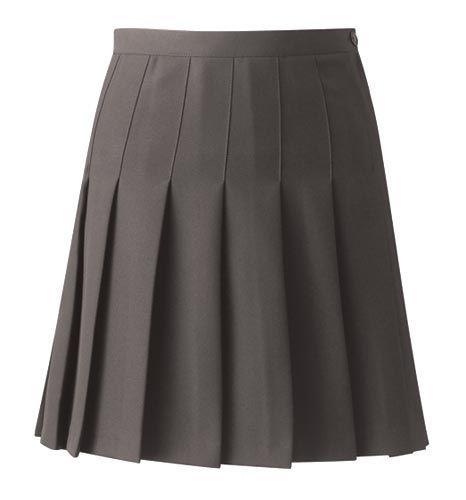 Pleated mini skirt 5
